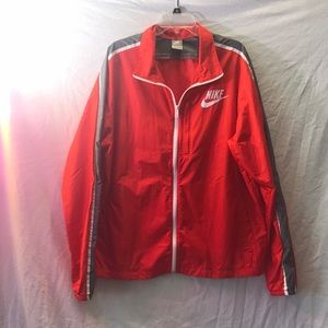 Nike mens xl windbreaker jacket nylon euc